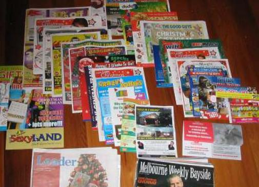 Is the participation in marketing costs for promotional leaflets always weighted with the size of the coverage?