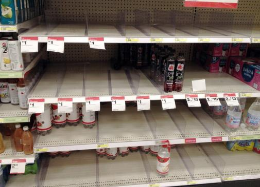 What would be your reaction if the shelve that was supposedly going to support your brand's facing is empty?